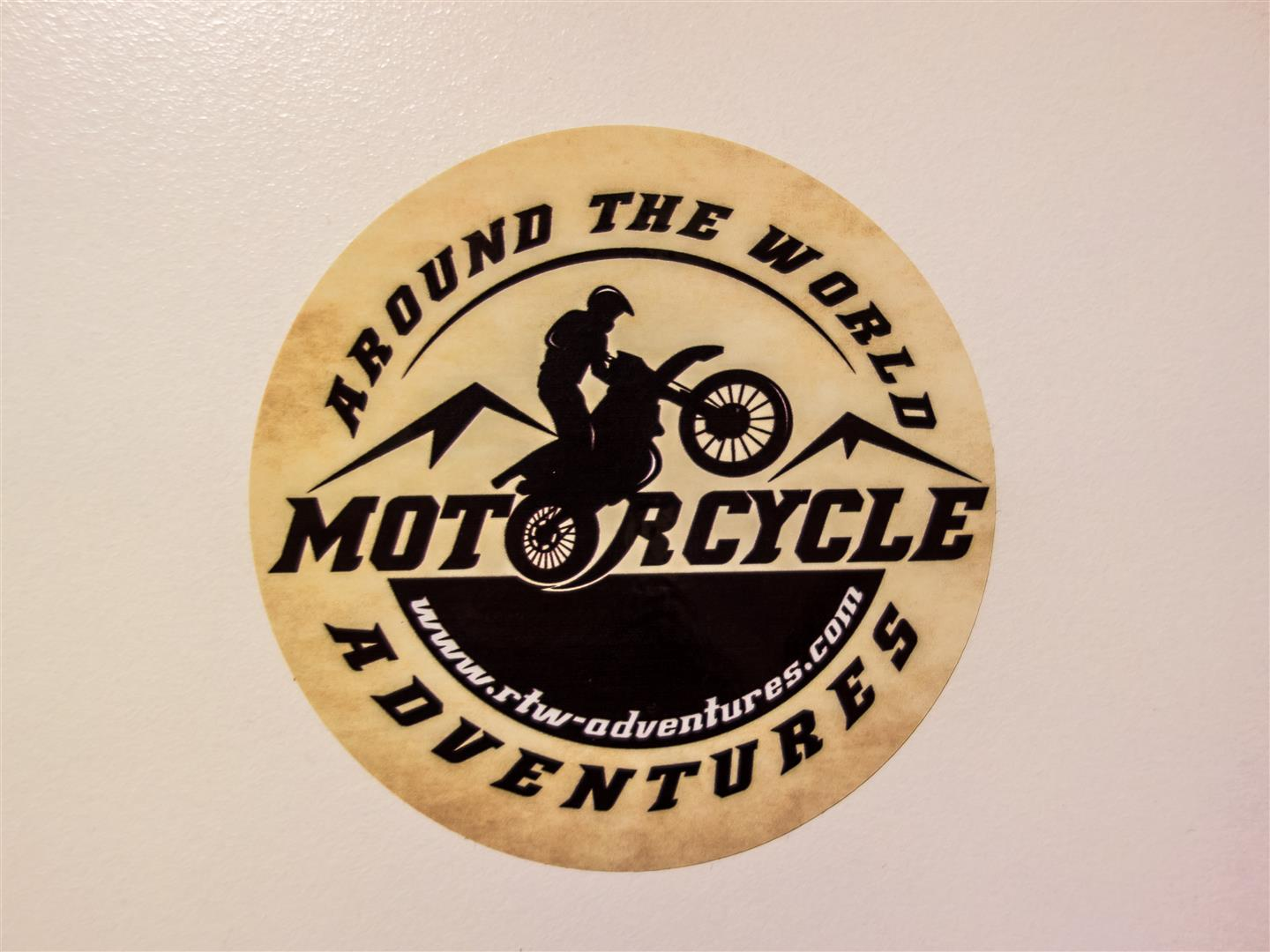 Motorcycle Adventures sticker