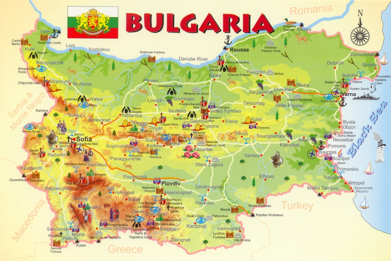 Motorcycle Trip Bulgaria